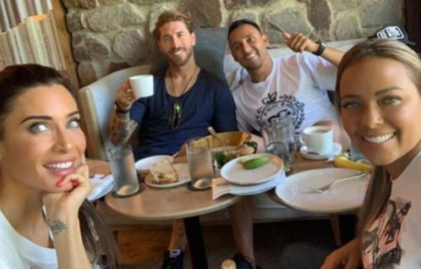 Pilar Rubio y Sergio Ramos celebran su luna de miel en Costa Rica con Keylor Navas y su mujer, Andrea Salas. /Instagram