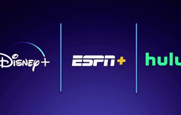 Disney+ también incluirá ESPN+ y Hulu