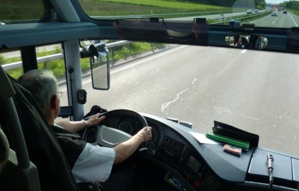 Fotografía conductor autobús de línea / Pixabay