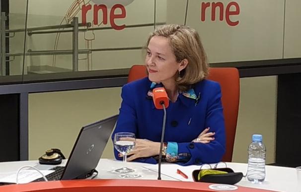 Entrevista en RNE a la ministra de Economía y Empresa, Nadia Calviño