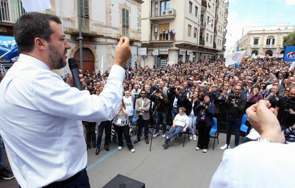 Matteo Salvini, en un acto