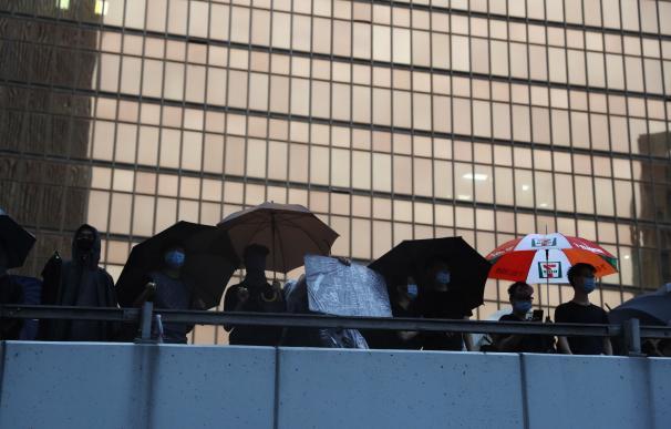 Nueva protesta en Hong Kong. / EFE