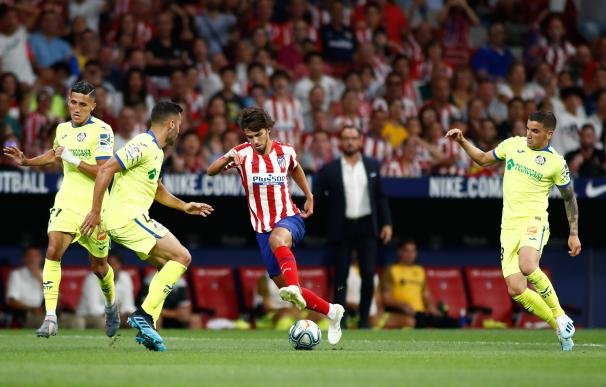 Joao Felix (jugador del Atlético de Madrid) frente al Getafe