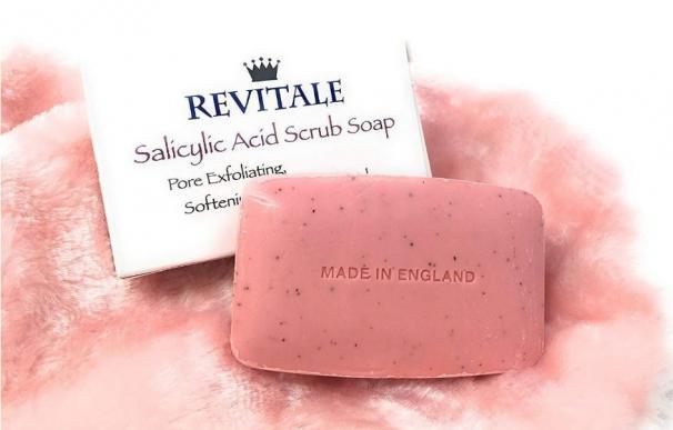Salicylic Acid Scrub Soap de Revitale, el jabón exfoliante más vendido en Amazon