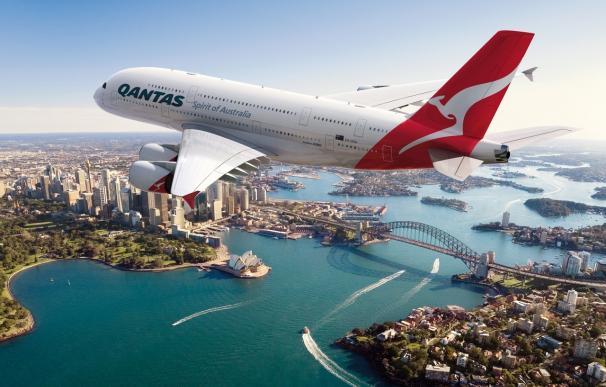 Una nueva huelga en Qantas afectará mañana a unos 8.500 pasajeros