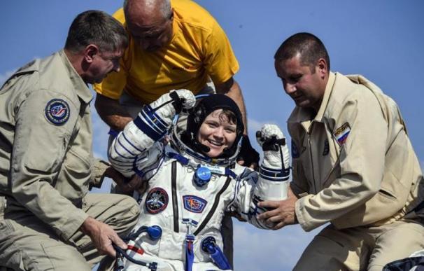 La astronauta Anne McClain   EFE