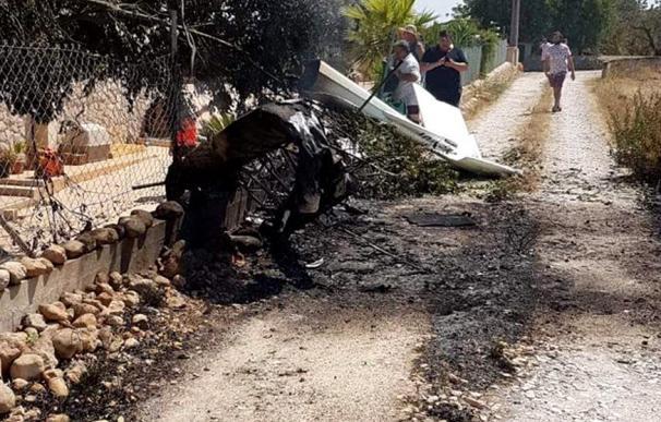 Imagen del accidente en Mallorca. / EFE