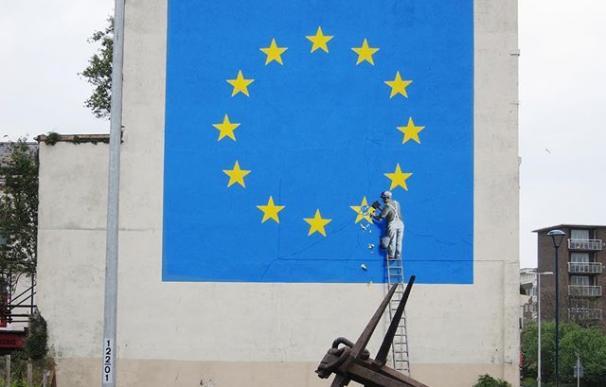 El mural se había convertido en una atracción de Dover. /Banksy/Instagram