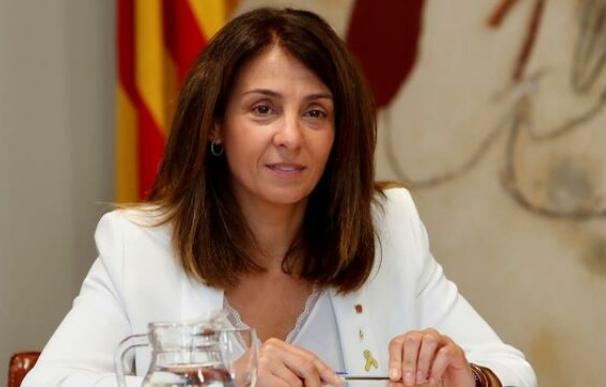 La consellera de la Presidència, Meritxell Budó. /EFE