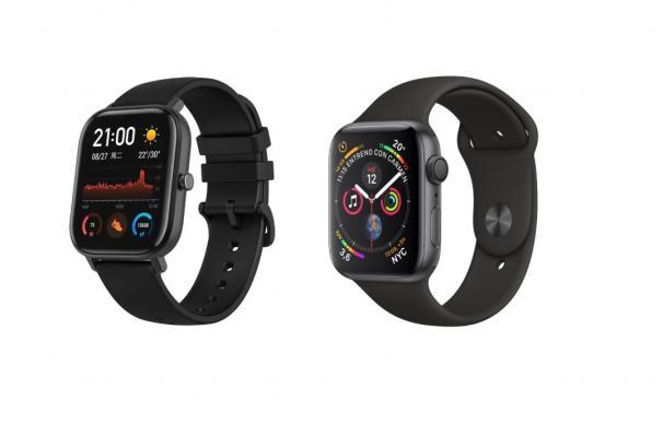 Amazfit GTS Vs Apple Watch 4