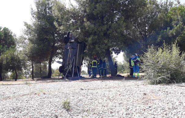 accidente en Las Rozas