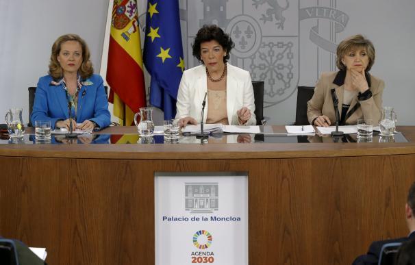 Fotografía último consejo ministros Sánchez / EFE