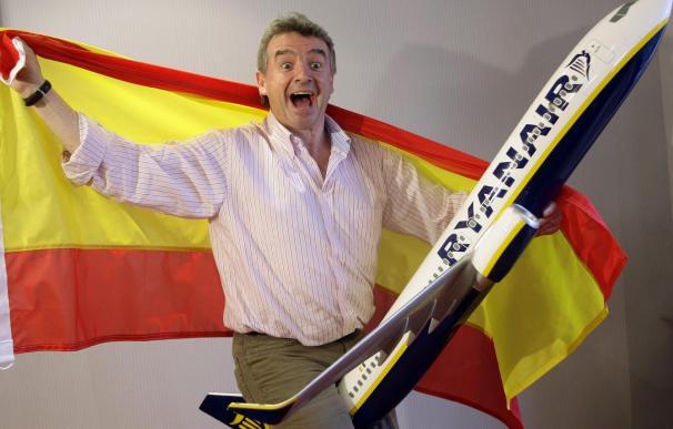 El director ejecutivo de Ryanair, Michael O'Leary. (EFE)