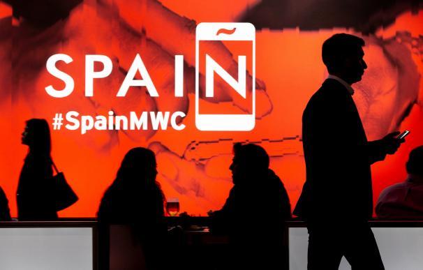 Imagen del Mobile World Congress (MWC) de Barcelona en 2019.