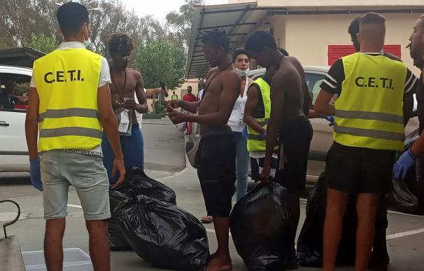 Ceuta migrantes