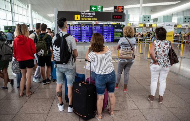 El comité de empresa de Iberia Barcelona decidirá el lunes si convoca más huelgas. /DAVID ZORRAKINO/ EUROPA PRESS