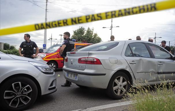 Ataque con cuchillo en Lyon.