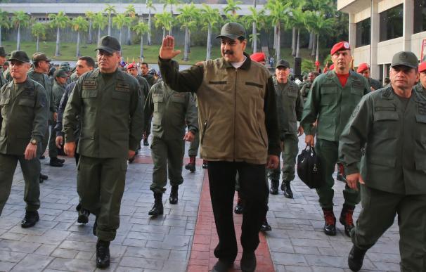 Nicolás Maduro ha exhibido su poder con el Ejército venezolano