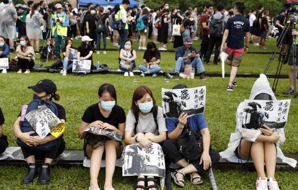 Protestas estudiantes Hong Kong