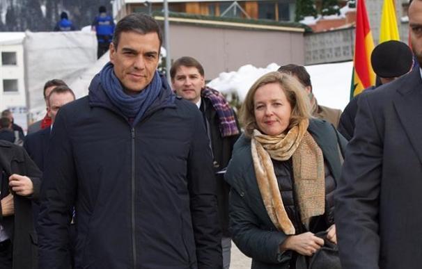 Nadia Calviño ha empezado a abrigarse ante la política económica que marca su jefe Pedro Sánchez