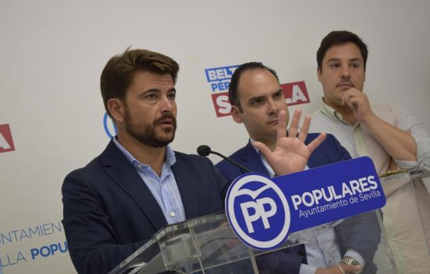 Beltrán Pérez, en rueda de prensa en una imagen de archivo