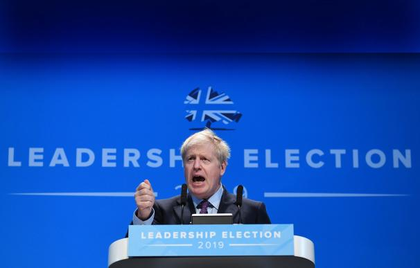 ¿Puede una pelea a gritos con su novia frenar la meteórica campaña de Boris Johnson?