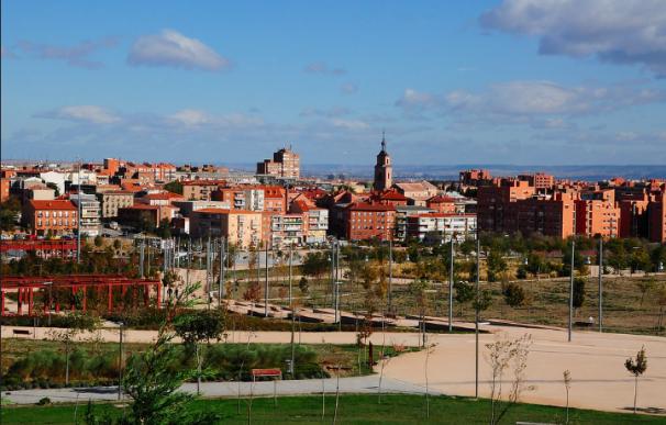 Vicálvaro, barrio madrileño de la zona este.