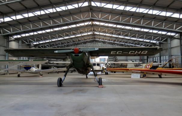 El Museo Aeronáutico de Catalunya, en un hangar del aeropuerto de Sabaddell
