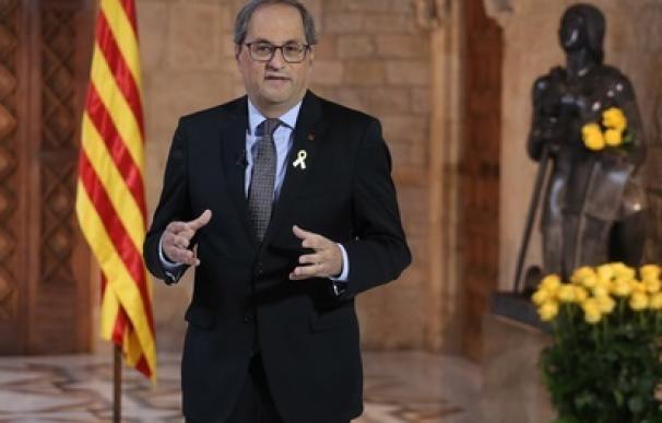 """Torra reclama la mediación internacional para frenar la """"represión"""" sobre Cataluña"""