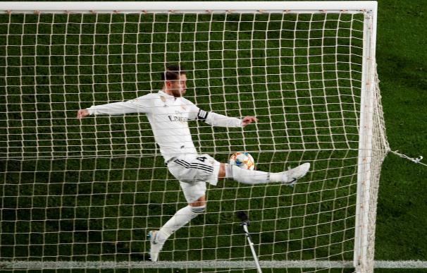 Bale ante el Barcelona en Copa del Rey