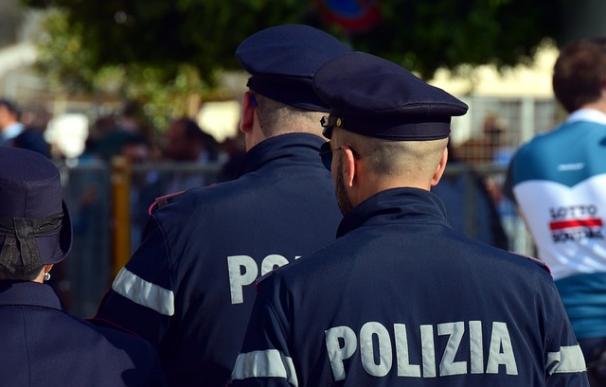 Fotografía de la policía de Italia.