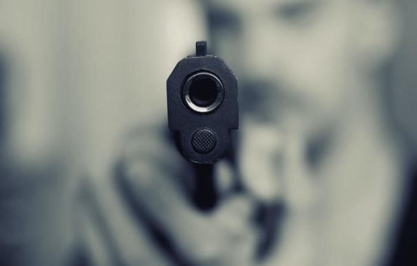 Fotografía de una pistola.