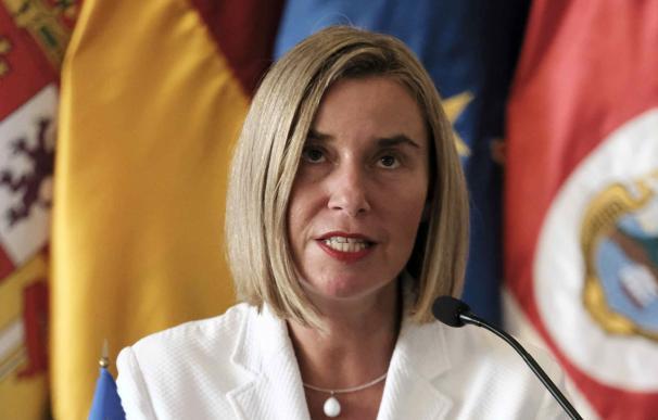 Federica Mogherini apoya a EEUU ante los ultimátums de Irán