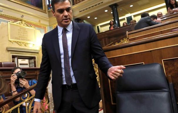 Pedro Sánchez, PSOE, Congreso de los Diputados