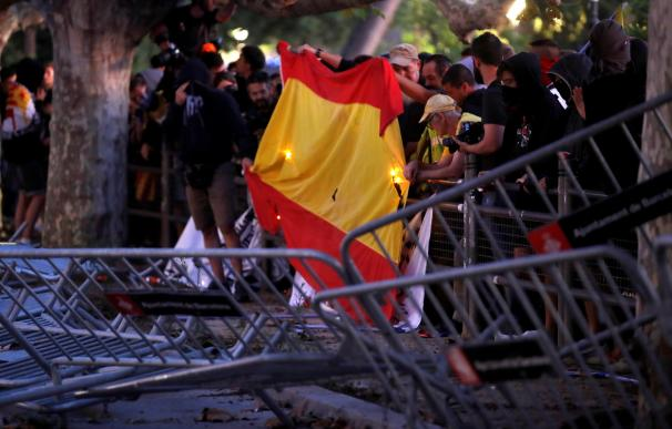 Diada disturbios barcelona