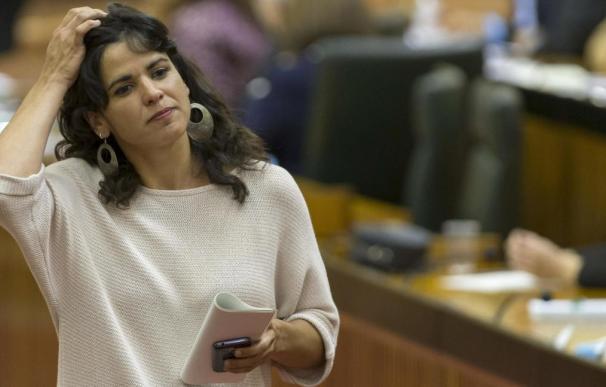 La secretaria general de Podemos en Andalucía, Teresa Rodríguez. - EFE La secretaria general de Podemos en Andalucía, Teresa Rodríguez. /EFE