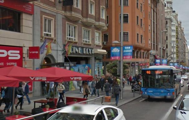 El antiguo hotel Rex y los míticos cines en la Gran Vía madrileña