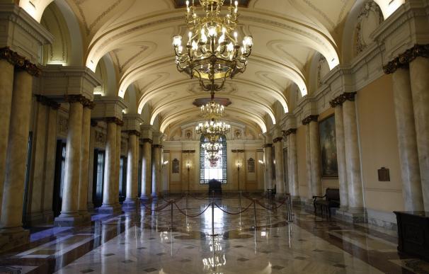 Una de las estancias del Tribunal Supremo que podrán visitarse durante los días 25, 26 y 27 de octubre de 2018.