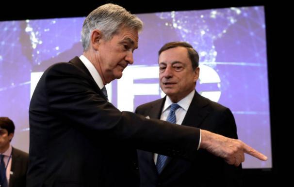 Powell y Draghi se enfrentan a 48 horas de infarto