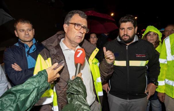 Presidente de Murcia, Lopez Miras, DANA gota fría