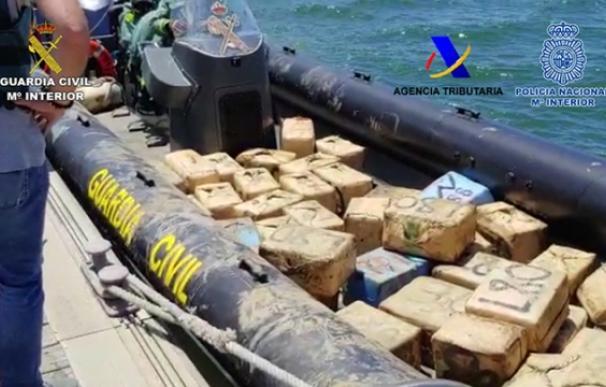 Guardia Civil operación narcotráfico Huelva