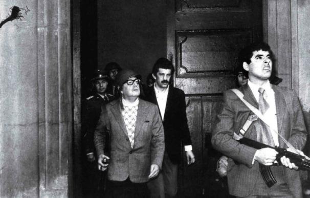 La última foto de Salvador Allende con vida. / Fundación Allende - EFE