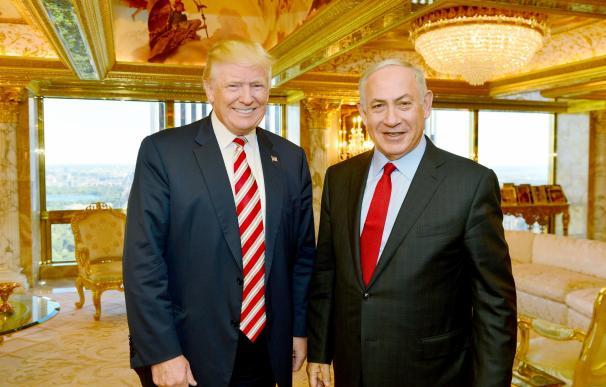 """Netanyahu advierte a sus ministros de que Trump no dará """"carta blanca"""" a Israel"""
