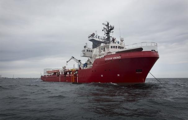 MSF y SOS Mediterranée vuelven al mar con el 'Ocean Viking'. / SOS Mediterranée/ Anthony Jean