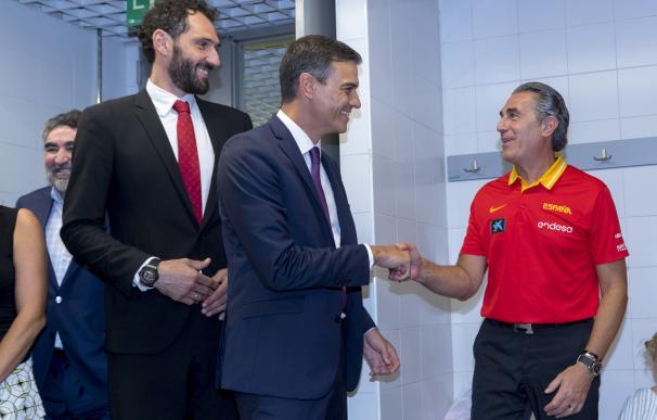 Sergio Scariolo Pedro Sánchez Jorge Garbajosa