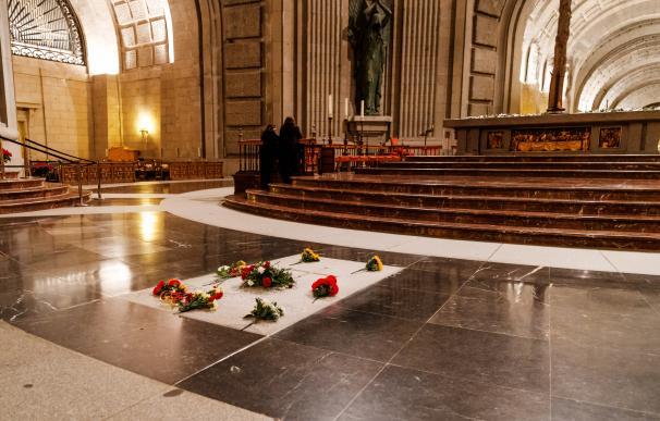 Sepultura de Franco en el Valle de los Caídos