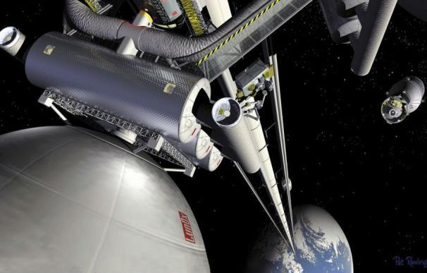 Un ascensor espacial conceptual