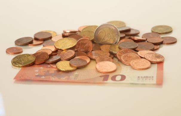 Fotografía de dinero en euros.