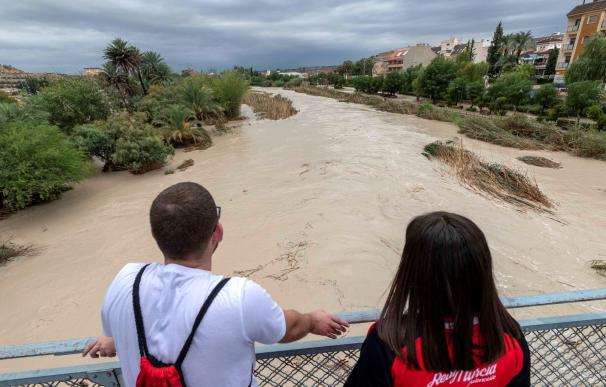 Fuertes lluvias registradas en Blanca