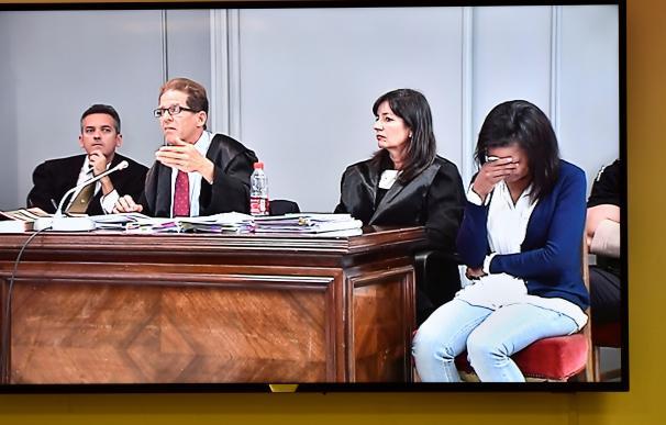 Ana Julia Quezada en su último día de juicio